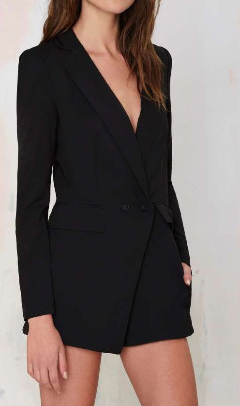 2978b3fd3798 No Tux Given Blazer Romper   I want this NOW :) in 2019   Rompers ...