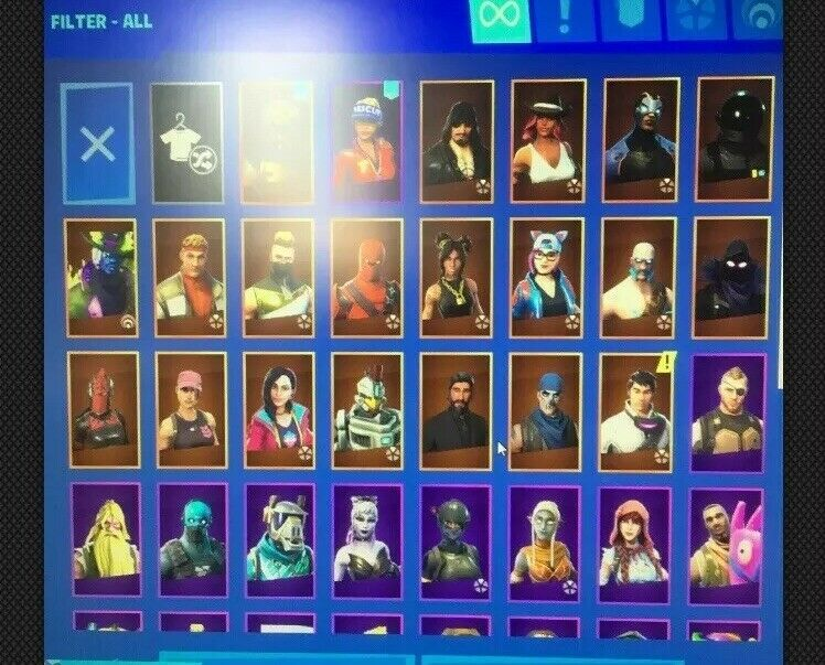 Fortnite Stacked Og Account (full Email And Password Login ...