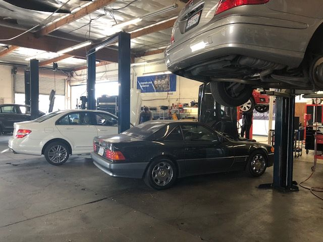Busy Day At South Bay Autohaus Mercedes Benz