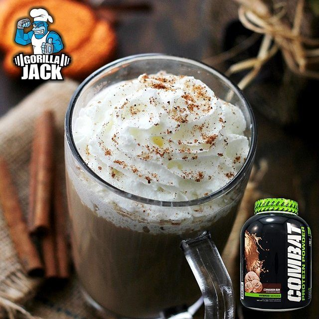 CINNAMON DOLCE PROTEIN SHAKE Ingredients 3/4 Cup COLD