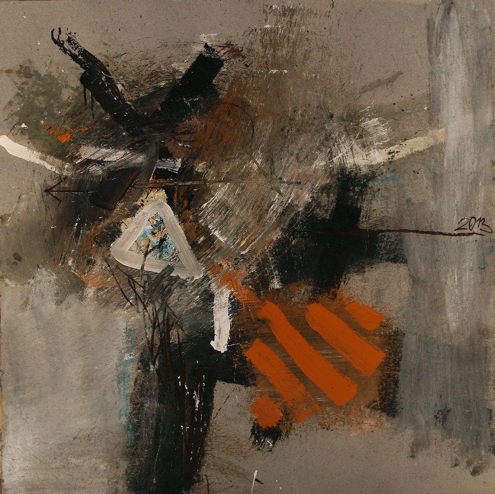 Rosen Markovski - acrylic, paper, 100x100