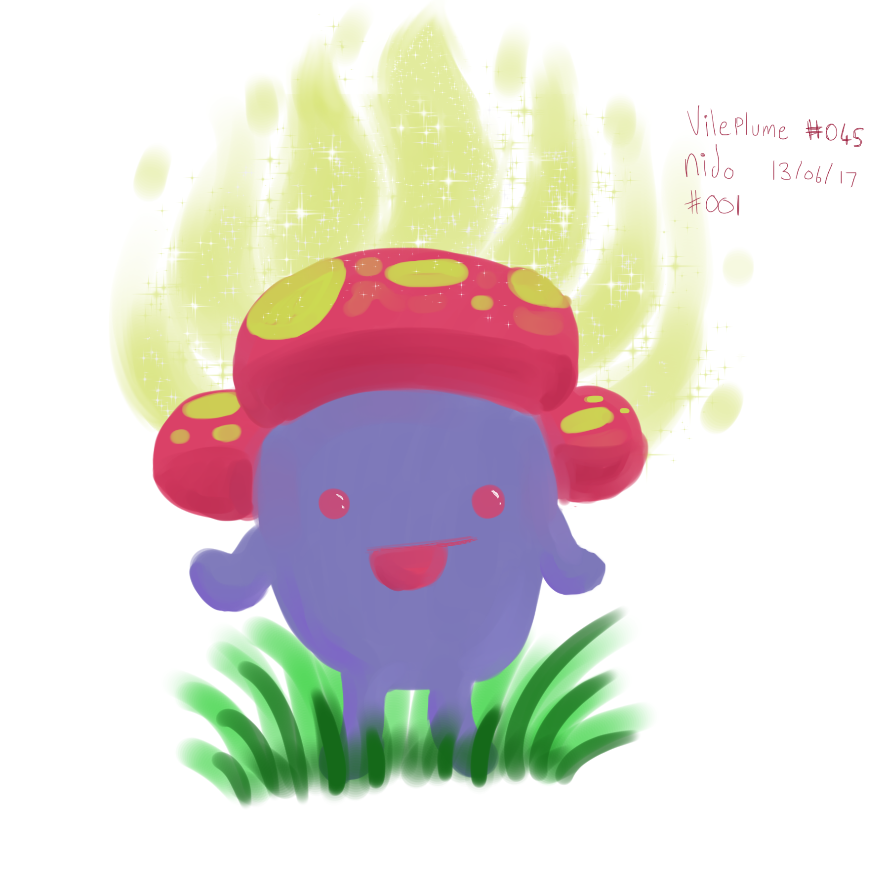 Pokemon a day vileplume pokemon pinterest pokémon and