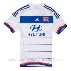 1ème maillot de foot Lyon 2015-2016