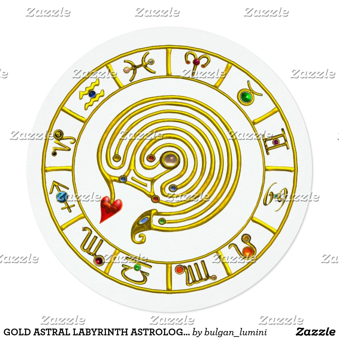 Gold astral labyrinth astrology zodiac chart white card zodiacal gold astral labyrinth astrology zodiac chart white card zodiacal astrologist invite events nvjuhfo Gallery