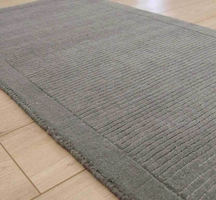 York Grey Hall Runner Rugs | Modern Rugs