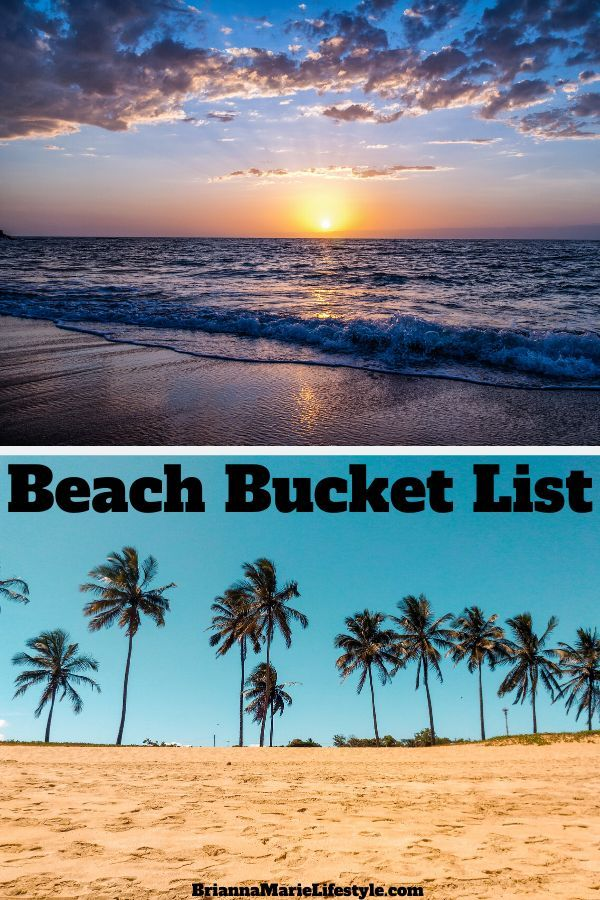 Beach Bucket List In 2020 (With Images)