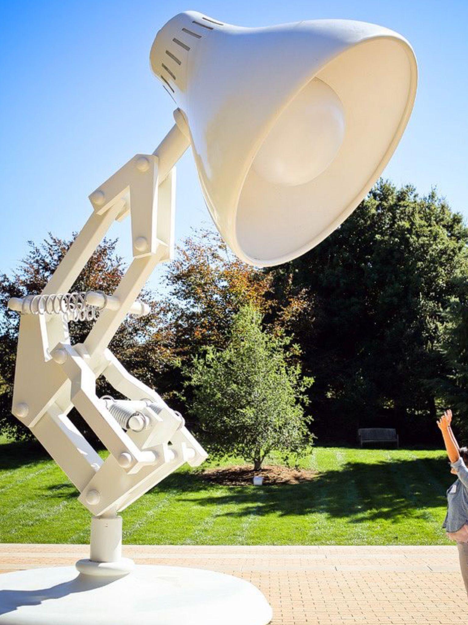 Pin By Ajodee On Art Cool Oversized Art Animation Studio Pixar Lamp Pixar