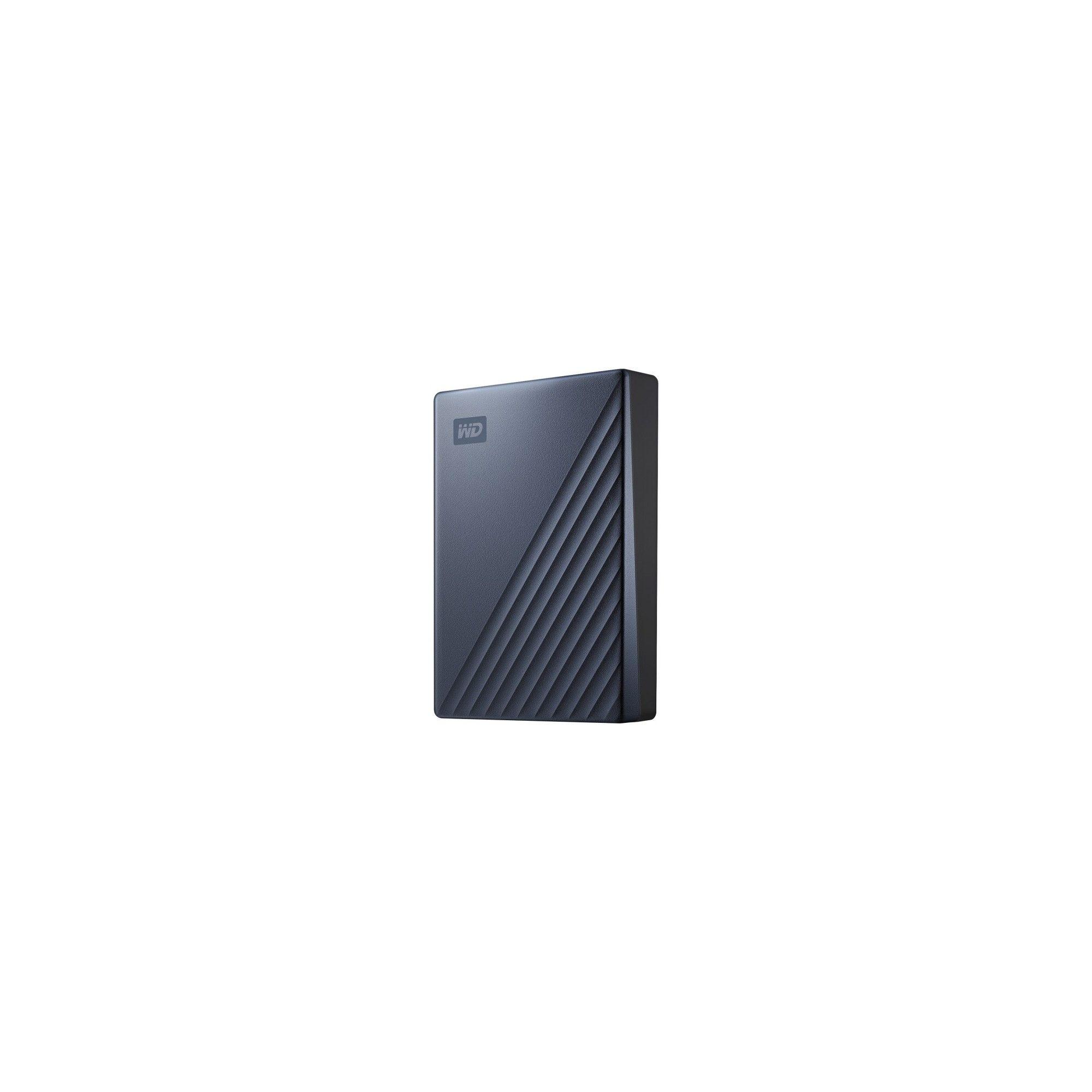 Wd My Passport Ultra Wdbftm0040bbl 4 Tb Hard Drive External Portable Usb 3 0 Blue 256 Bit Encryption Standard Hard Drive Encryption Usb