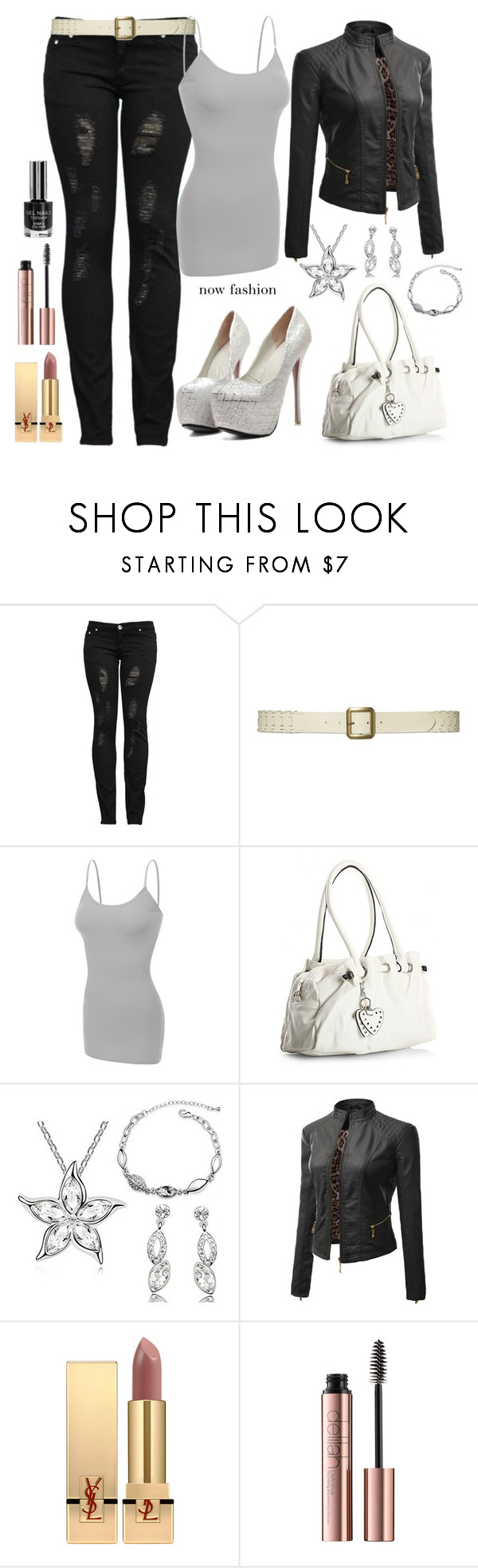 """MAHMMOD"" by mahmmodhafes ❤ liked on Polyvore featuring Lauren Ralph Lauren, Doublju and Yves Saint Laurent"