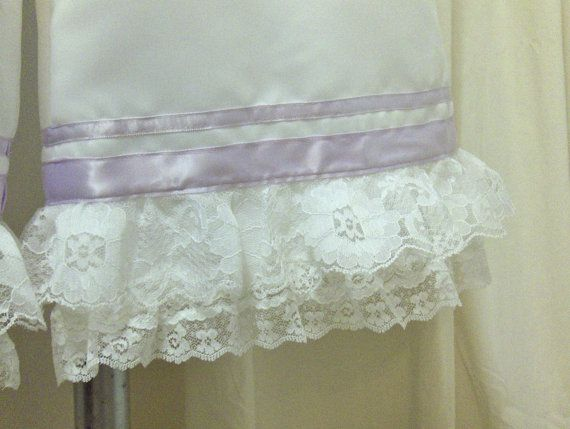 White Matte Satin Bloomers / Pantaloons with by MissPussinBoots
