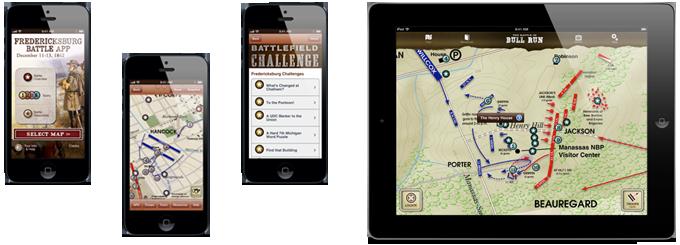 Battle Apps GPSenabled Civil War Trust Battle App