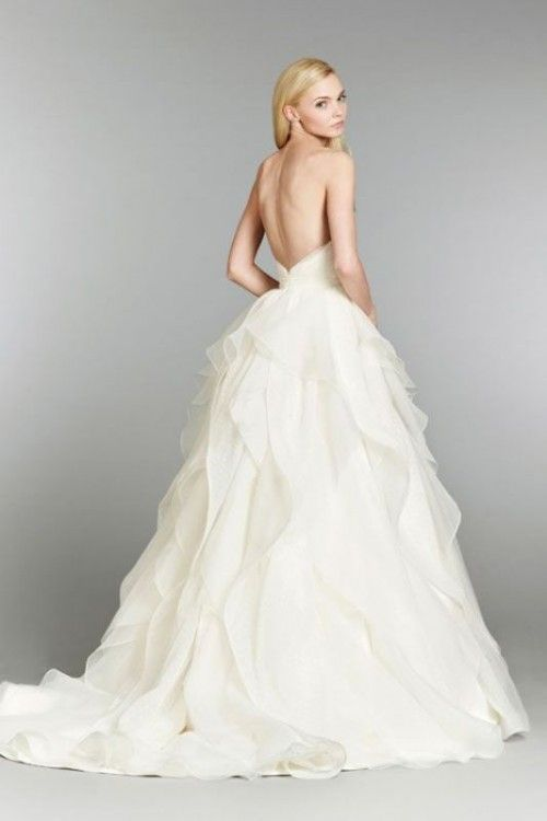 37 Jaw Dropping Lower Back Wedding Dresses