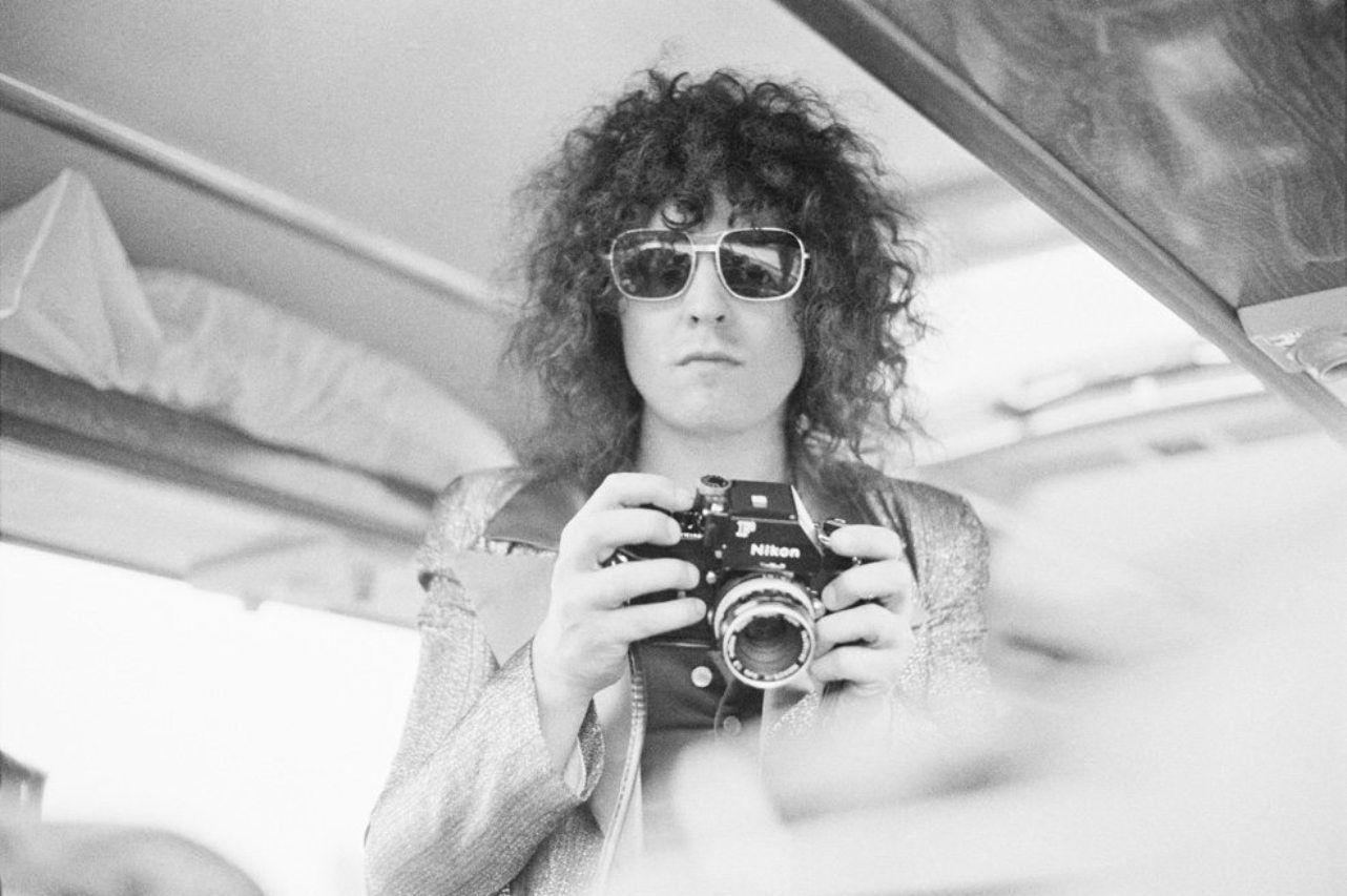 Marc Bolan with a Nikon