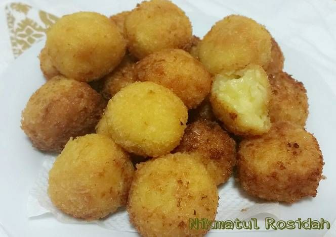 Resep Cheese Potato Balls Ala Mcdonald S Oleh Nikmatul Rosidah Resep Cemilan Resep Parutan Keju
