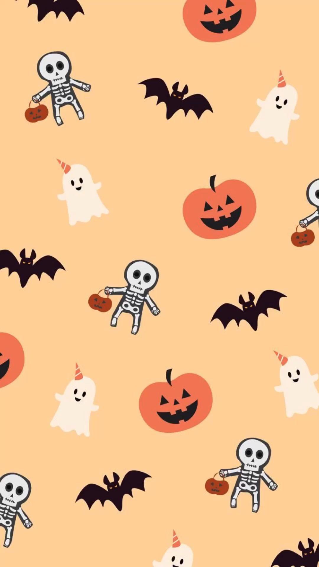Cute fall/halloween wallpapers!🍁🎃💕