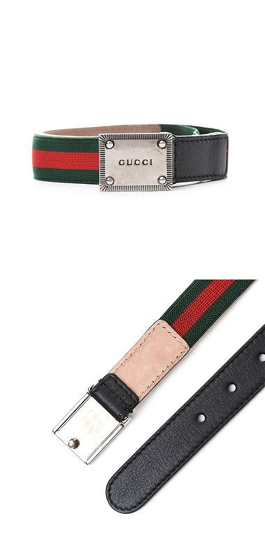 Belts and Belt Buckles 57883  New Cintura Gucci Junior Bambino Verde  Poliammide  73%,Elastan  27% Made In It -  BUY IT NOW ONLY   145.03 on eBay! 57c0c2727fe