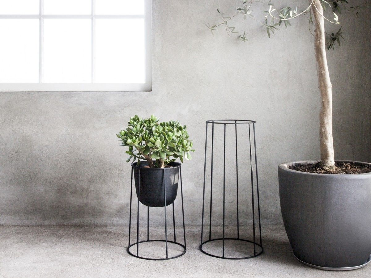 Black Wire Plant Stand Menu Wire Plant Pot Black Condos Apartments And House