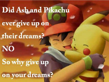 Ash and Pikachu Pokemon quotes, Pokemon, Pikachu