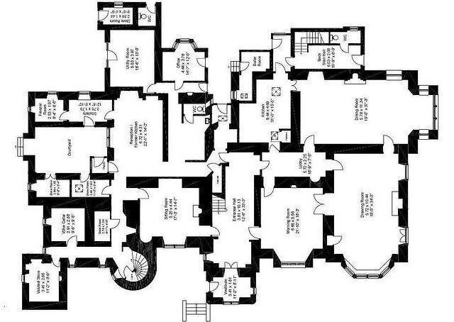 Pin On Floor Plans Castles Palaces