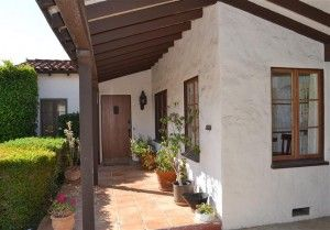 Hacienda Style Front Porch Entry in #Glendale