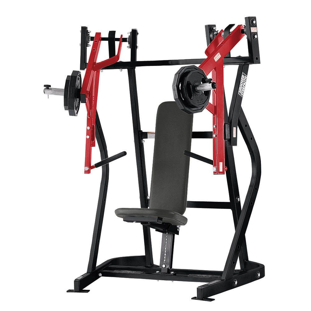 The Hammer Strength Iso-Lateral Bench Press offers