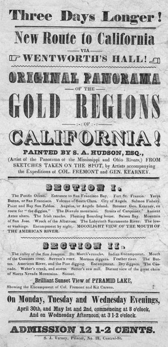 1848 the discovery of gold. Library Exhibits :: Gold Rush ...