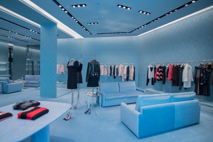Miu Miu boutique, Dubai - UAE » Retail Design Blog ...