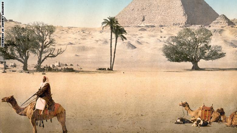 صور نادرة لشمال أفريقيا من عام 1899 تظهر للمرة الأولى Egypt Giza Pyramids Egypt Giza