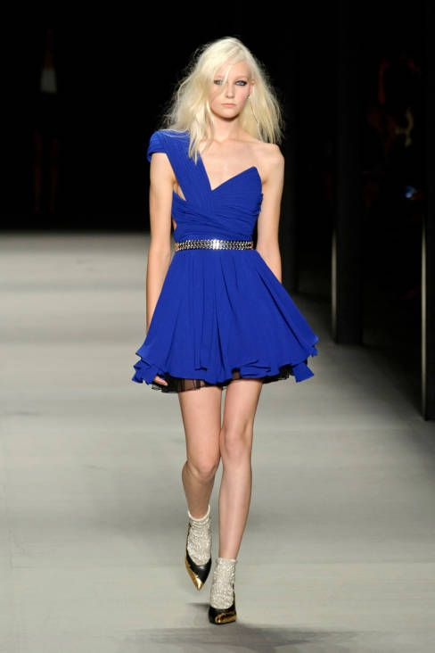 SAINT LAURENT SPRING 2014 READY-TO-WEAR COLLECTION