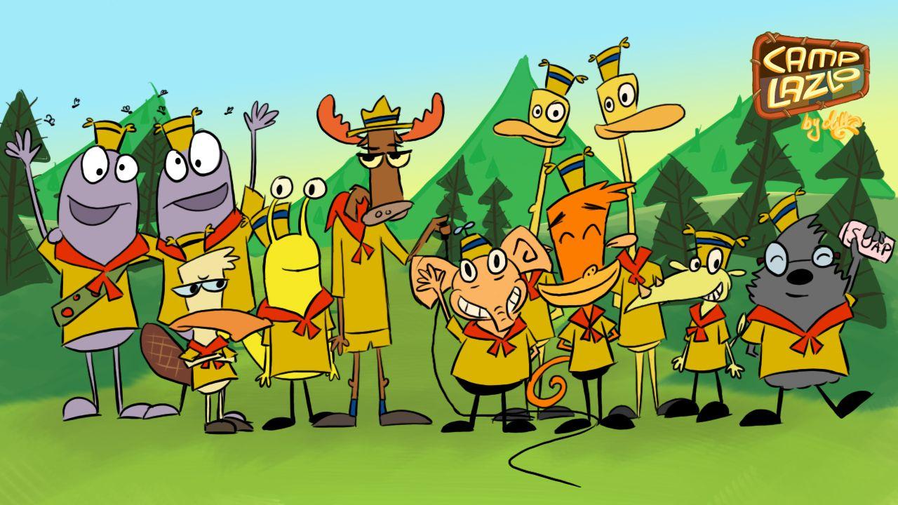 Camp Lazlo Camp Lazlo Cartoon Characters Wallpaper Old