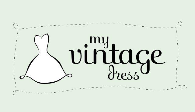 My Vintage Dress Logo Design And Web Site Fashion Logo Design Dress Logo Logo Design