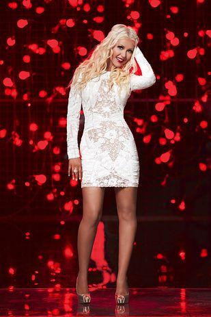 Christina Aguilera the Voice Dresses