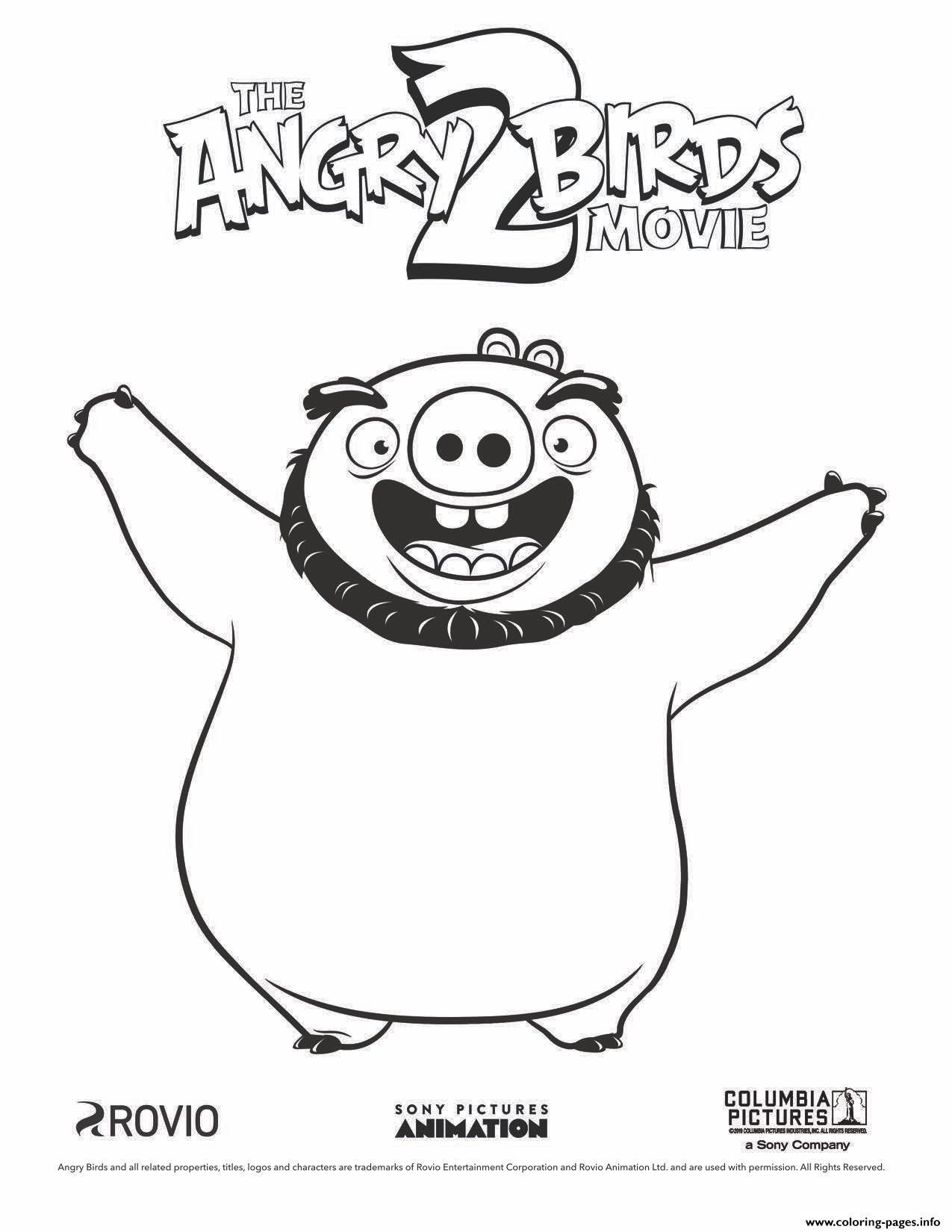 20 Angry Birds Coloring Pages Kindergarteen Worksheets