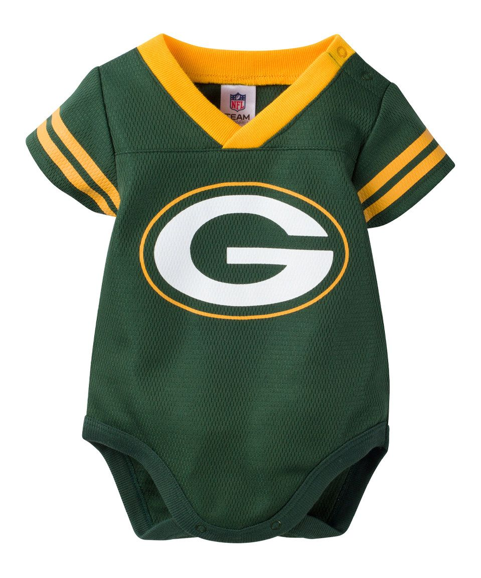 Another Great Find On Zulily Green Bay Packers Dazzle Bodysuit Infant By Gerber Children Green Bay Packers Baby Packers Baby Green Bay Packers Baby Clothes