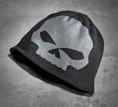 14f2e096a Men s Reversible Skull Knit Hat
