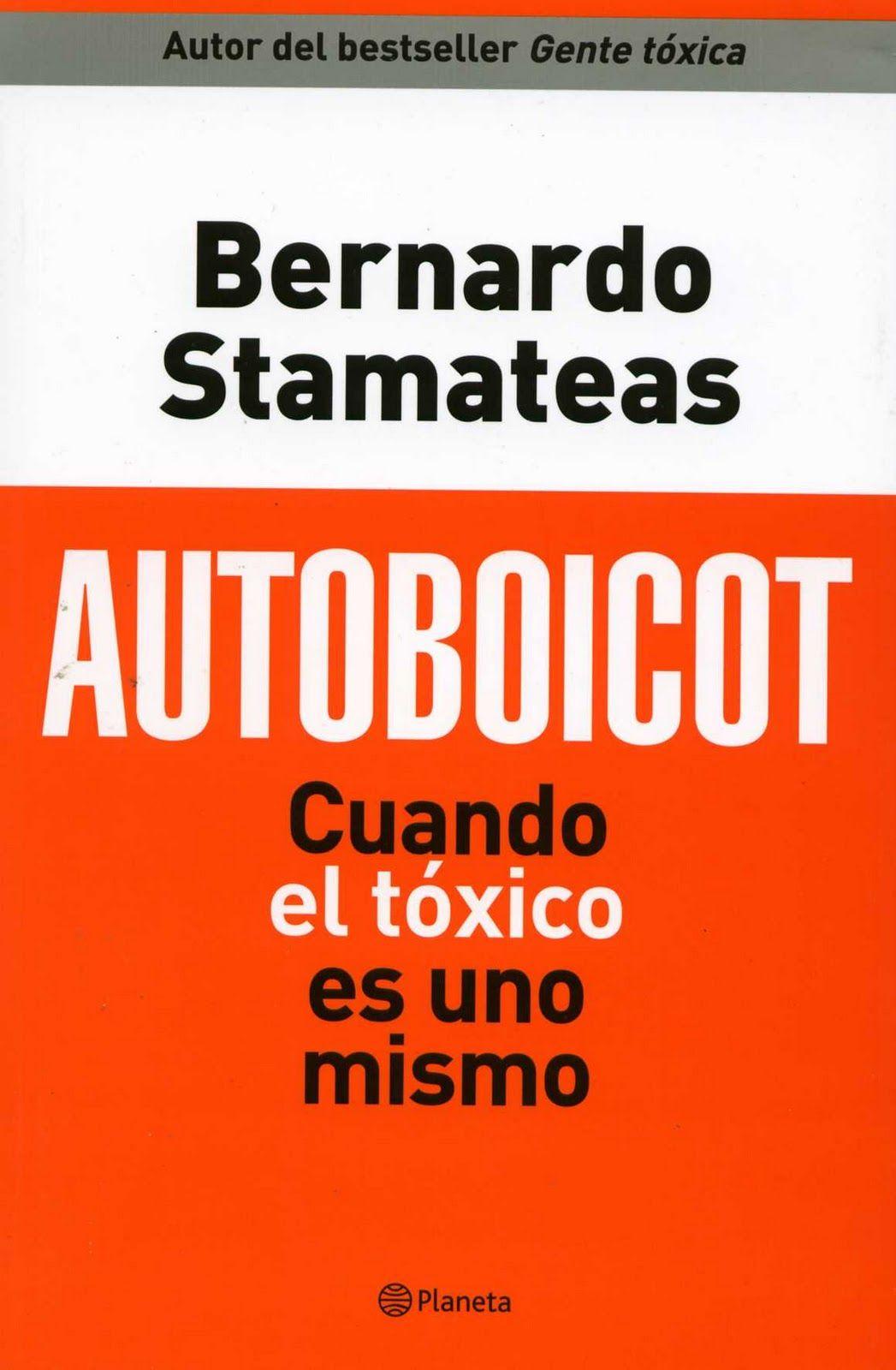 Autoboicot Por Bernardo Stamateas - Descargar PDF ...  @tataya.com.mx