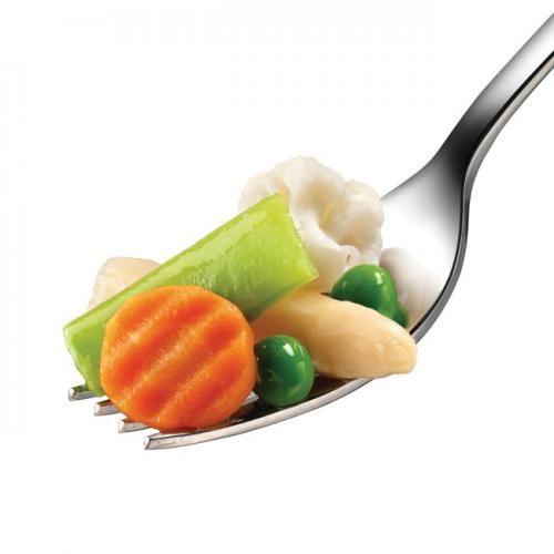 MENESTRA Riojana - Bolsa 600 g -INGREDS: Judía verde plana, guisante, alcachofa,  zanahoria, borraja, coliflor, espárrago blanco