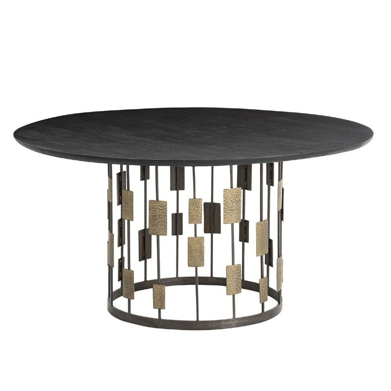 Arteriors Home Hughes Dining Table 2819 Brass Dining Table
