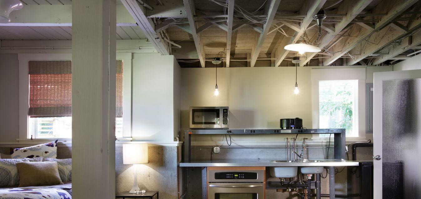 Cheap Unfinished Basement Ceiling Ideas