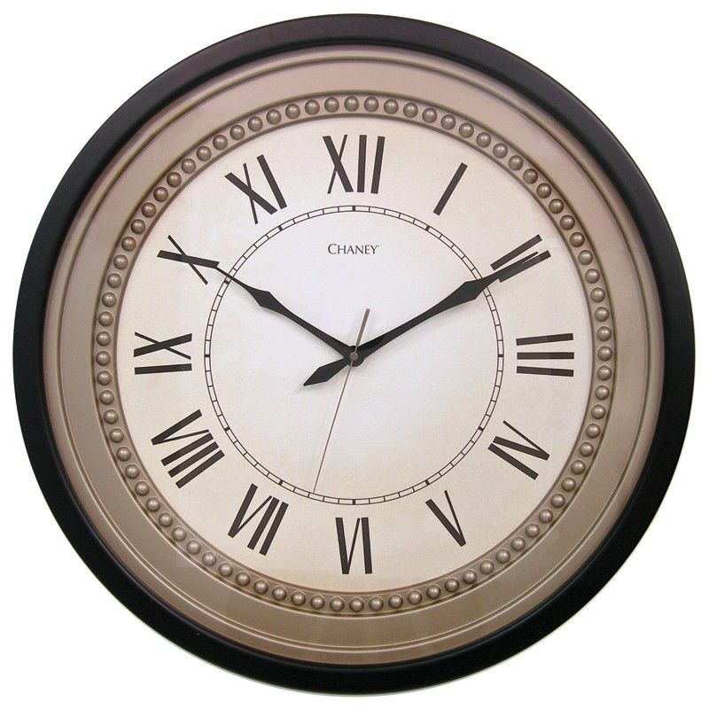 21 5 Quot Leah Dots Clock 45075kla2 The Chaney 21 5 Inch Leah