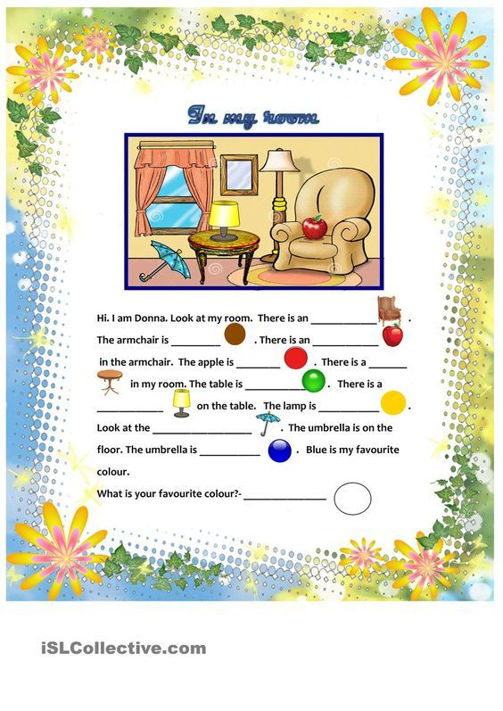 Prepositions of place English for children – Prepositions of Place Worksheet