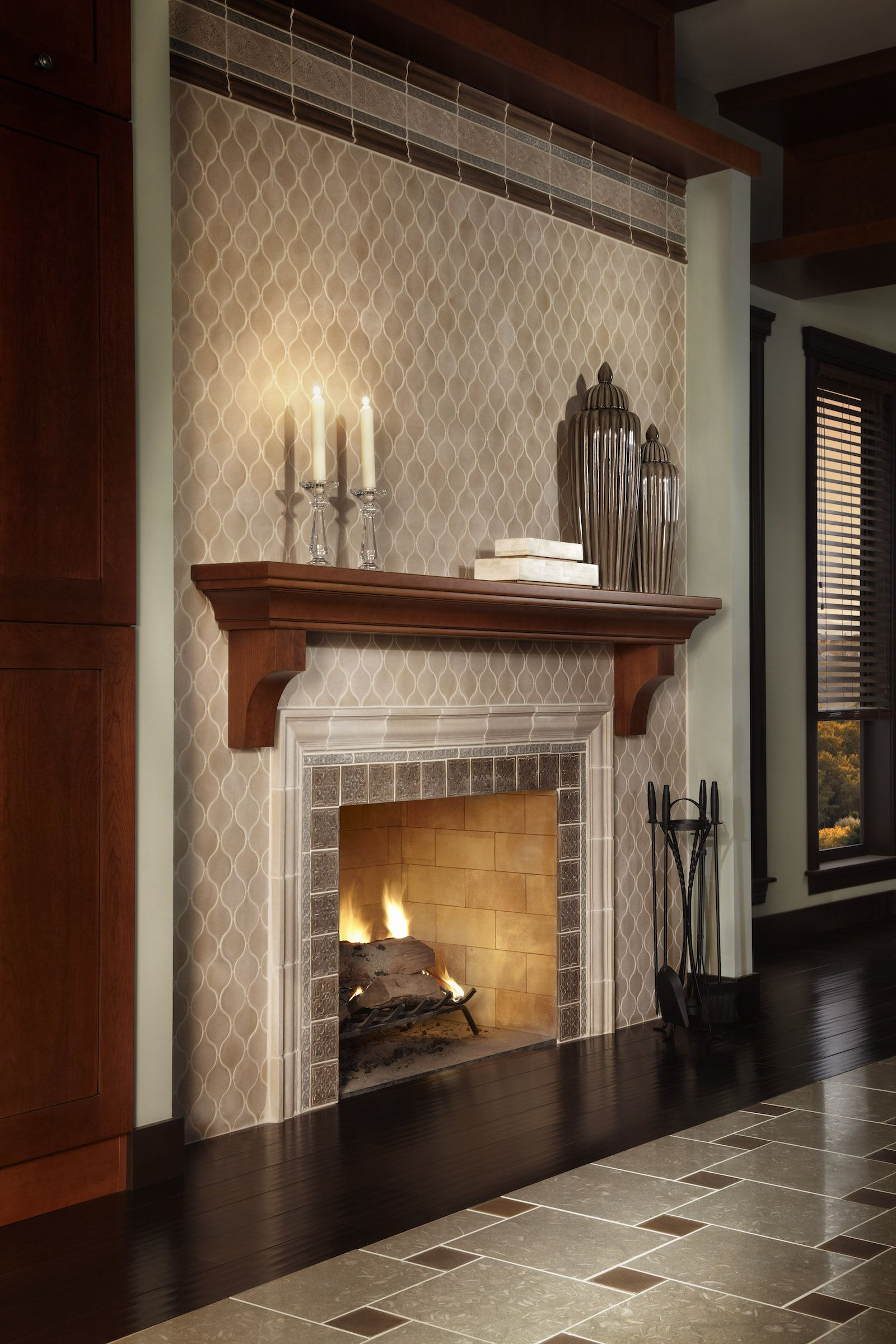 Fireplaces - Ed Pawlack Tile