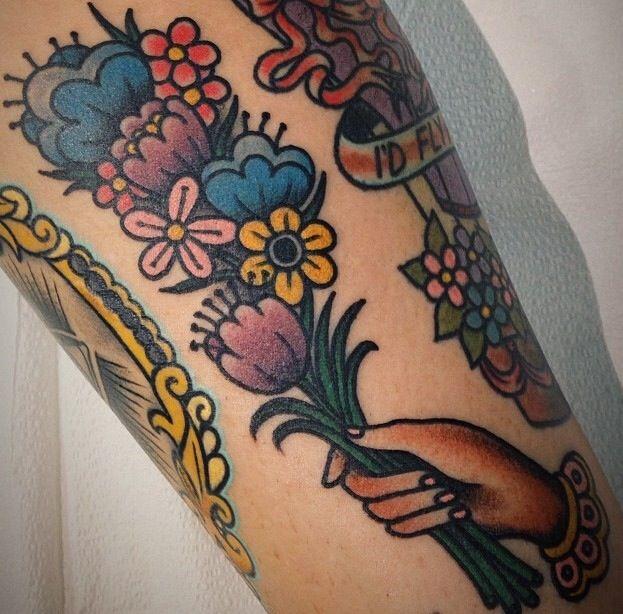 best 25 bouquet tattoo ideas on pinterest flower bouquet tattoo wildflower tattoo and poppy. Black Bedroom Furniture Sets. Home Design Ideas