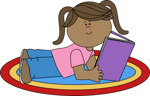 read clip art girl reading clip art image girl stretched out on rh pinterest com free reading clipart pictures free reading clip art for teachers