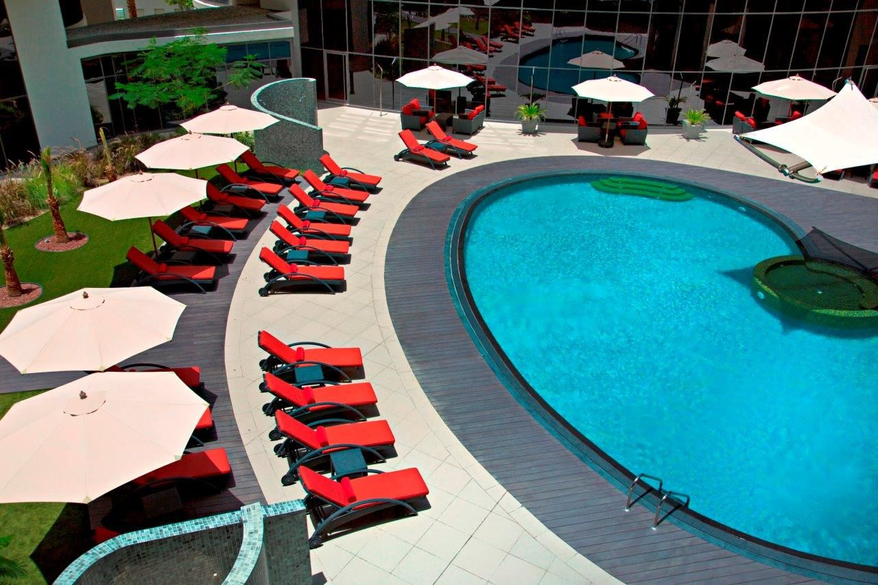 Temperature controlled swimming pool Hotel, Hotels and