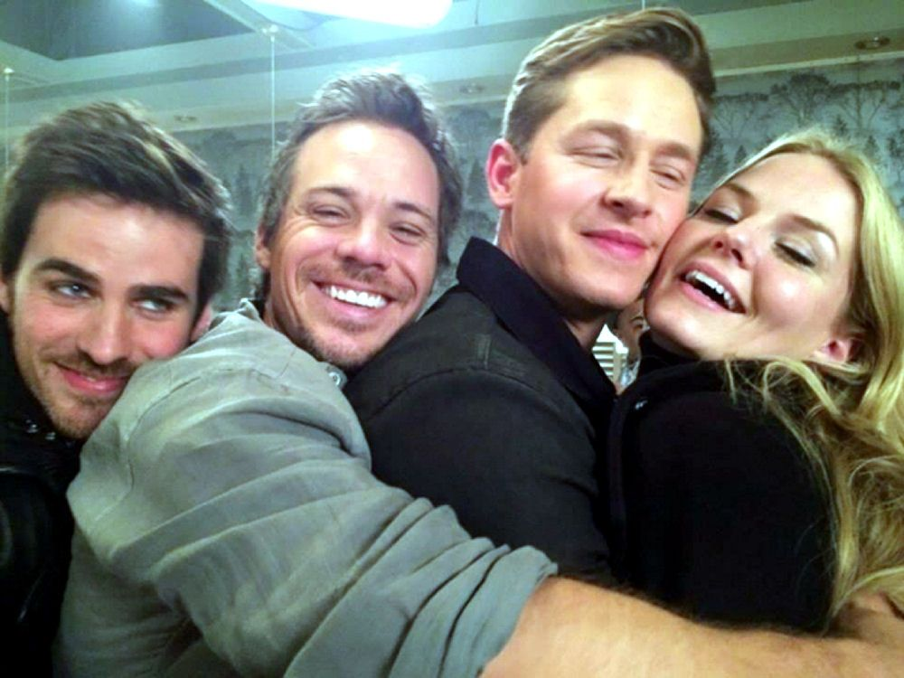 Colin - O'Donoghue - Josh Dallas - Michael Raymond-James - Jennifer Morrison