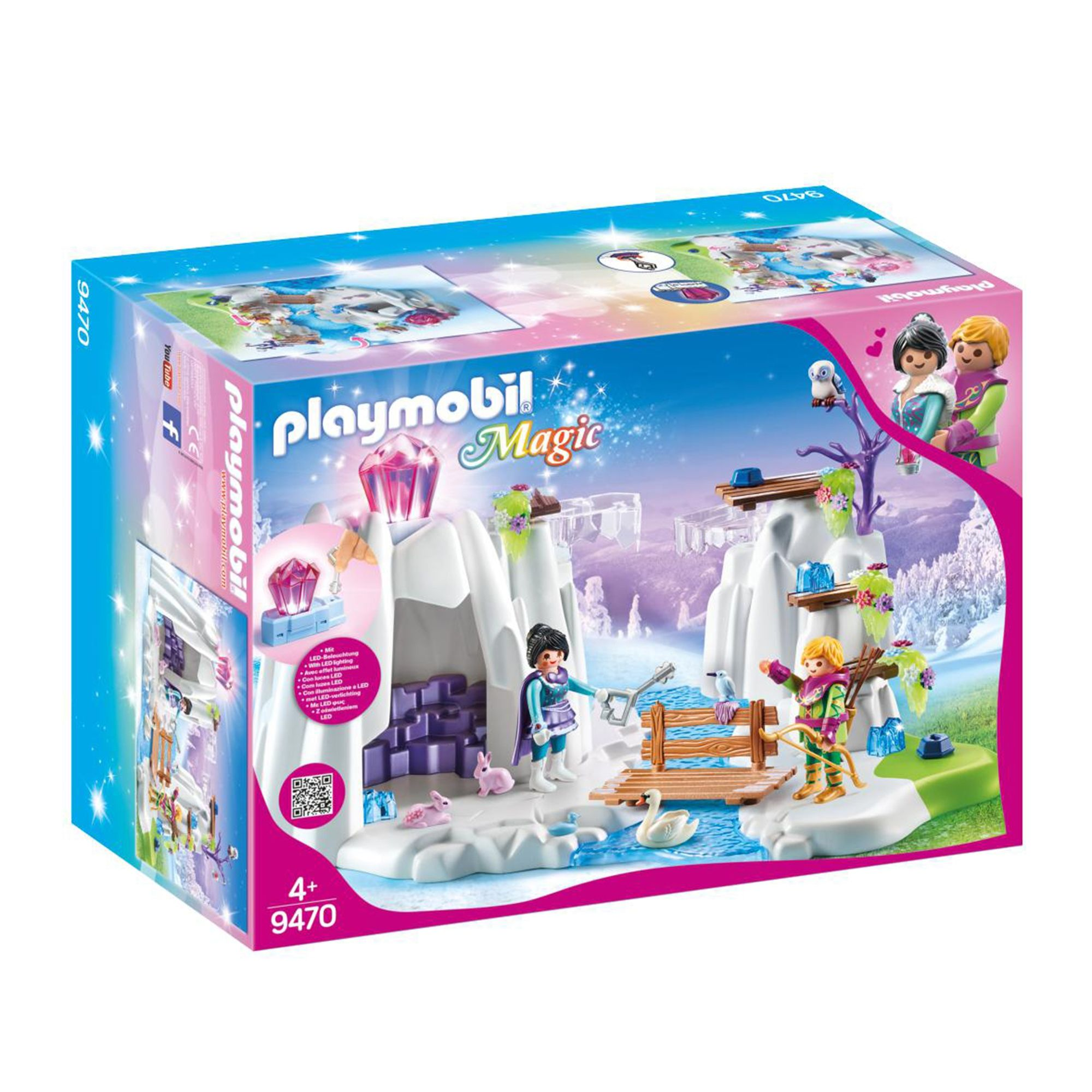 Playmobil 9470 Magic Crystal Diamond Hideout With Shiny Crys Playmobil Diamond Crystal Playset