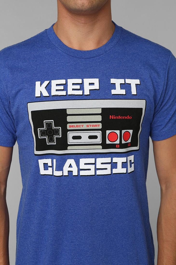 8408fe72b Keep It Classic Tee | Nintendo Entertainment System NES Video Game ...