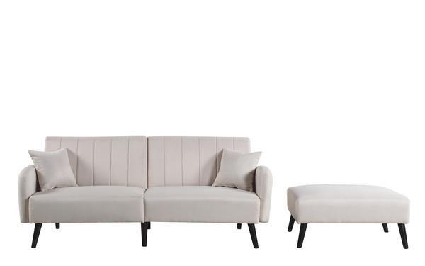 Magnificent Galicia Mid Century Modern Vibrant Linen Sleeper Futon A Alphanode Cool Chair Designs And Ideas Alphanodeonline