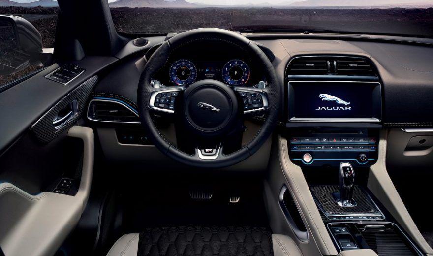2019 Jaguar F Pace Svr Interior Jaguar E Jaguar Jaguar Pace